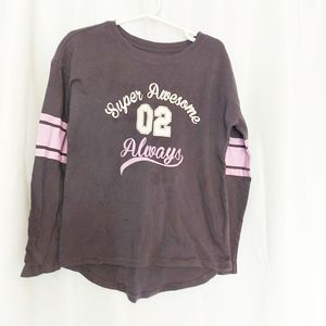 George Girls Long Sleeve Top Size S(6)